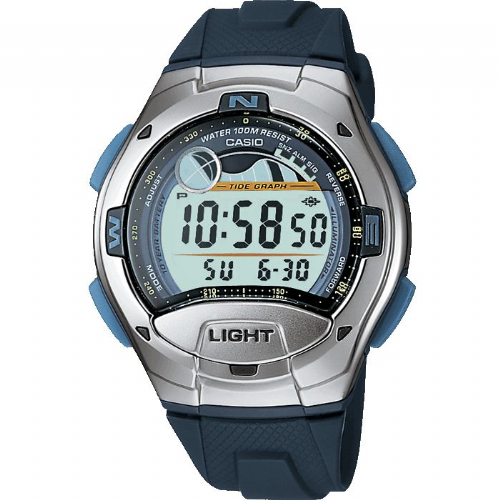 Casio Digital Sailing Watch with Tide Graph and Yacht Timer